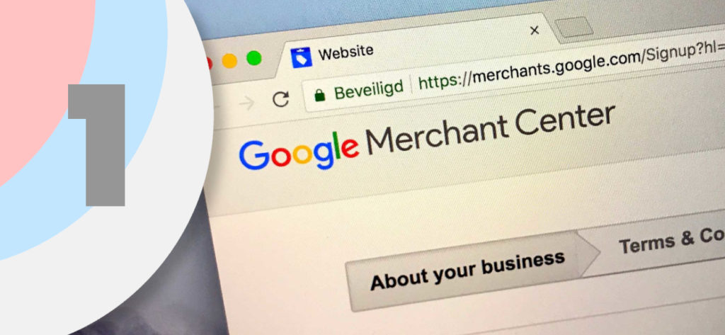 cómo aparecer en Google Shopping paso 1