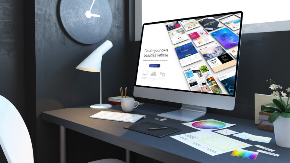 website-builder-workplace-interior-3d-rendering